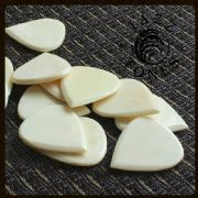 Jazz Tones - Bone - 4 Guitar Picks | Timber Tones